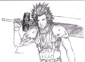 Zack Fair ( Final Fantasy VII Crisis Core ) by Robert-Marten