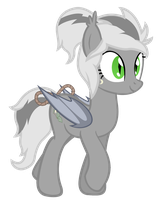 Vinca the bat pony by VectorVito