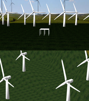 MMD Wind Turbine Stages by mbarnesMMD
