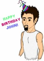 Happy Birthday John Dolmayan by cubedpork