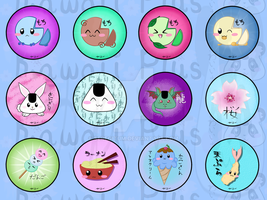 Button Designs Sheet 2 by Seregitum