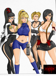 Videogame Gals part 2 by EmersonOvens