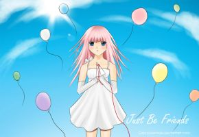 Vocaloid Luka - Just be Friends by GlacyRoserade