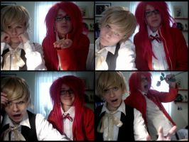 Grell and Alois webcamshots 2 by AllMyInkHybrid