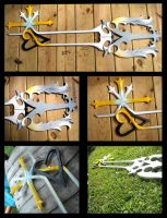 Oathkeeper-Keyblade by BrokenHeart-less