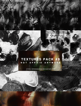 Textures Pack #09 - Not Afraid Anymore by SpringSabila