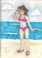 Karin's summer vacation by Bellawho1