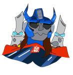 I AM OPTIMYST PRIME by Mysty-Cuddles