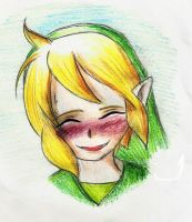 Toon Link -- Colored by Zeliga