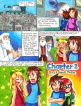 Megaman: S-H-D Manga Page 1 by Sonicbandicoot