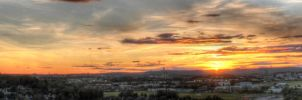 Incredible sunset by marcusjehrlander