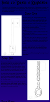 How to Draw a Keyblade by Sylviejean