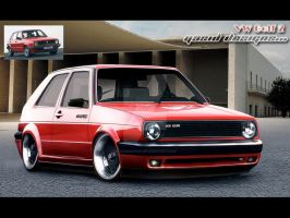 VW golf 2 by yasiddesign