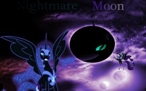 Nightmare Moon Wallpaper by Macgrubor