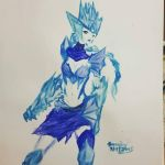 Ice Drake Shyvana by busyb67