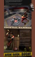 TF2 Alternate Demoman Melee by samuelpires