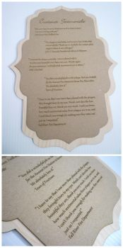 Customer Testimonials Plaque by dizzyflower28