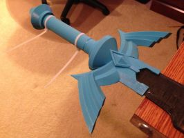 Skyward Sword Master Sword WIP by ClothBender