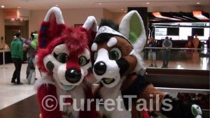 Katana and Havik MFF 2013 by FurretTails