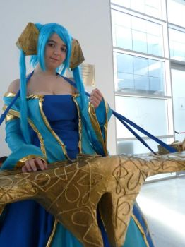 Sona League of Legends by Lagain