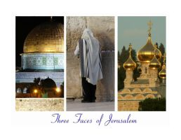 Three Faces Of Jerusalem by hbrodsly