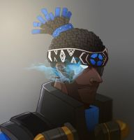 TF2 Demoman Headhunter by biggreenpepper