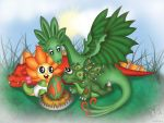 happy dragonvale family by SweetLemonKisses