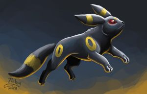 Umbreon by rz250