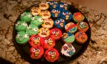 Angry Birds Cupcakes by AlicesInsanity
