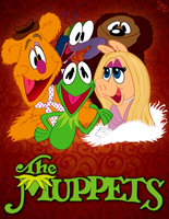 The Muppets by JonnyBCartoonMan
