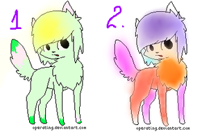 Adoptable Cat Batch 2 OPEN by PearlTheKitty2012