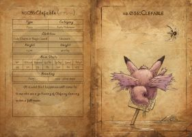 NO.036 Clefable by Mummy-fei