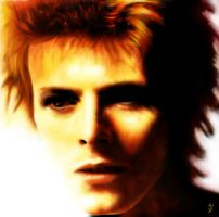 David Bowie Digital Painting by kApZ-17