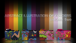 Abstract illustration of folders (volume two) by D1m22