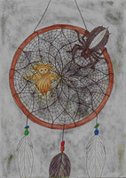The dream catcher by Candle-stic