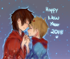 Happy New Year by Amaruru