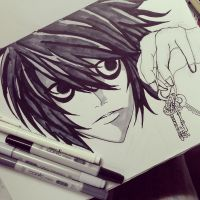 Death Note - WIP by MuArtGL