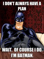 World's Most Interesting Batman by Phostex