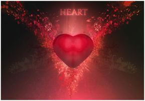 Heart by agoni
