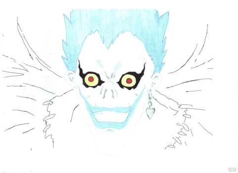 Anime Ryuk 001 by Blu-RavenNight