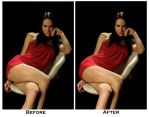 Before And After 'Red Mini' by BttrflyKisses