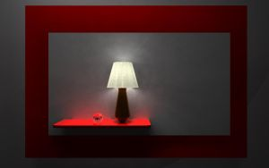 Lamp On Final Render by azieser