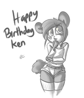 Happy Birthday Ken by leadhooves