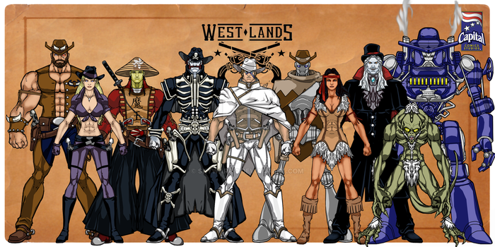 Westlands Characters Group-1 by skywarp-2