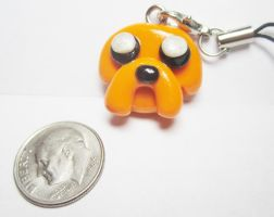 Jake the Dog Cellphone Charm by MilkCannon