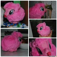 soft plush Fluffle Puff by Ketikaket
