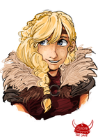 Even more Astrid by Dreamsoffools