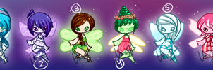 PIXIE ADOPTS [40-45] CLOSED by Vanilla-Bones