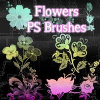 Flowers Brushes by petermarge