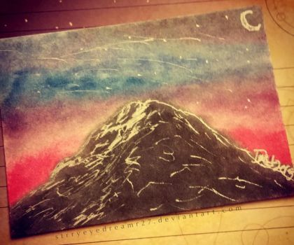 ACEO-'Makeup Mountain' by strryeyedreamr27